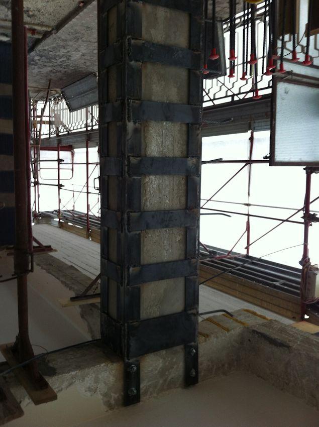 Rinforzi strutturali Corema Restauri 2000